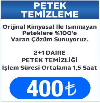 2+1 Daire Petek Temizleme Fiyatı, Petek Temizleme Fiyatları Keçiören Ankara
