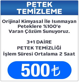 3+1 Daire Petek Temizleme Fiyatı, Petek Temizleme Fiyatları Keçiören Ankara