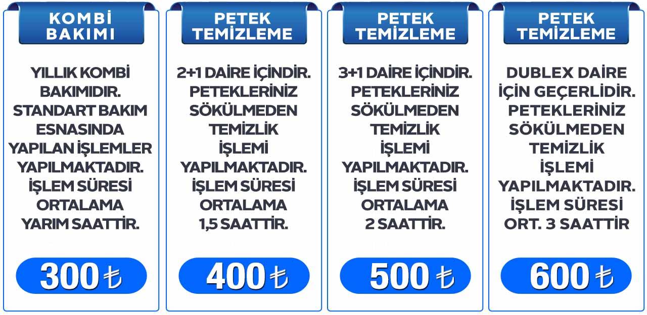 Kombi Bakımı Fiyatları ve Petek Temizleme Fiyatları Keçiören Ankara